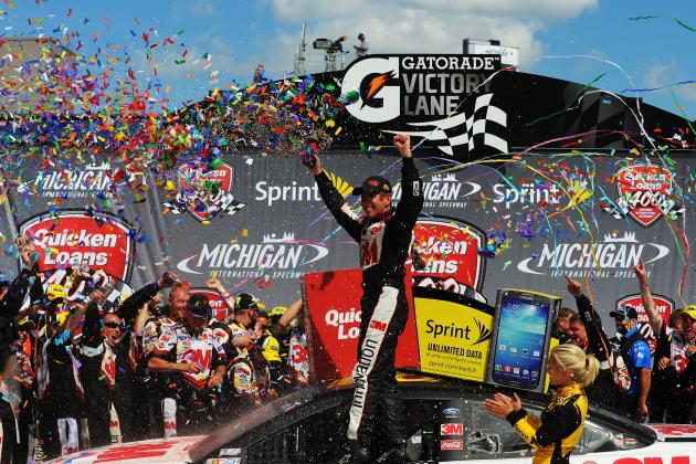 2013 Quicken Loans 400: Live Results, Updates and Reaction