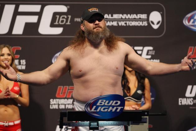 UFC 161: What's Next for Roy Nelson After Stunning Defeat