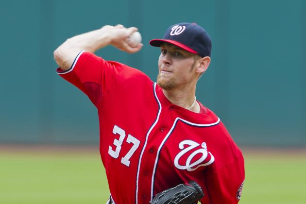 Indians Spoil Strasburg's Return to Nationals