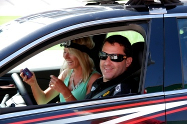 FYI WIRZ: Tony Stewart and Kasey Kahne Enjoy NASCAR and NFL Promotion