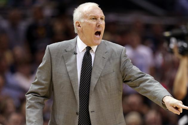 Popovich Says at Shootaround No Lineup Changes…probably
