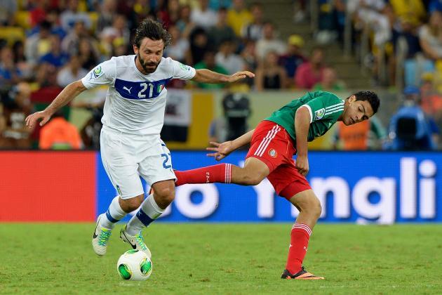 Confederations Cup 2013: Italy 2, Mexico 1