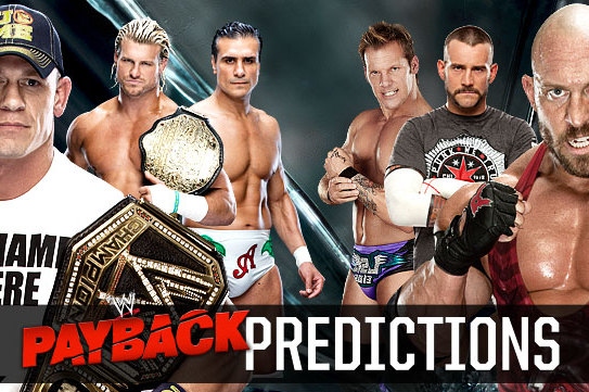 WWE Payback: Is Your Excitement Meter for the PPV High or Low?