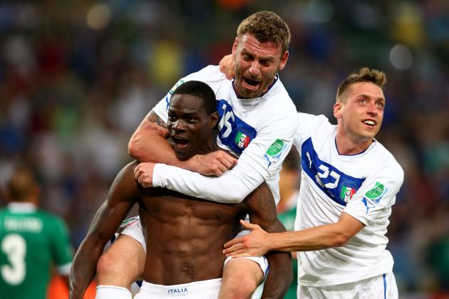 Italy vs. Mexico: Reviewing Mario Balotelli's Performance in Rio