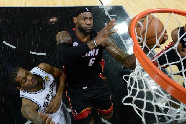 Heat vs. Spurs: LeBron James Must Be Aggressive from Tip for Miami to Win Game 5