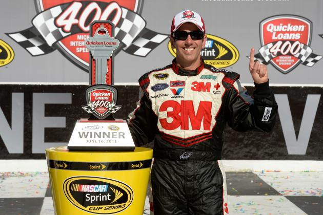 2013 Quicken Loans 400: Greg Biffle's Competitive Fire Refreshing for NASCAR