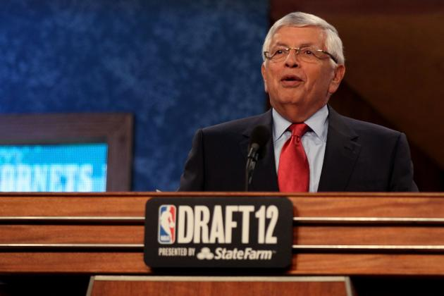 The Art of Booing David Stern and a Pick at the NBA Draft