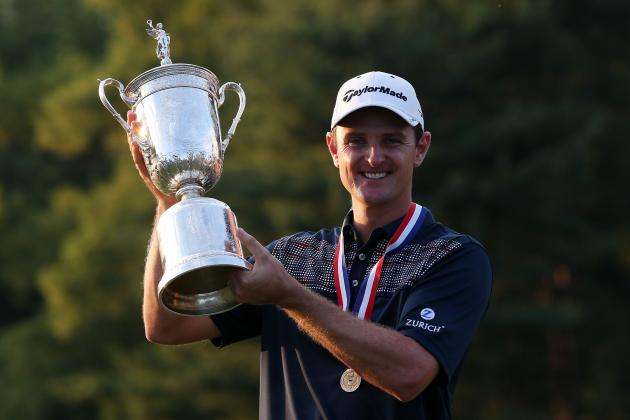 US Open Golf Winner 2013: Justin Rose's Improvement with Driver Pays Off