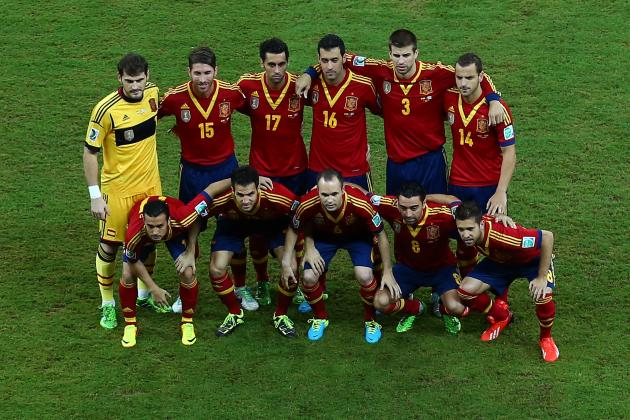Spain Prove They're Still the Team to Beat vs. Uruguay