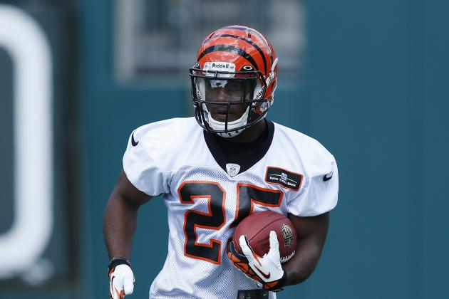 Gio Bernard Trying to End Bengals' Running Back Struggles in NFL Draft