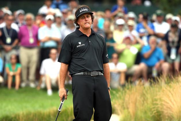 US Open 2013: Phil Mickelson Should Ask for a New Putter for His Birthday
