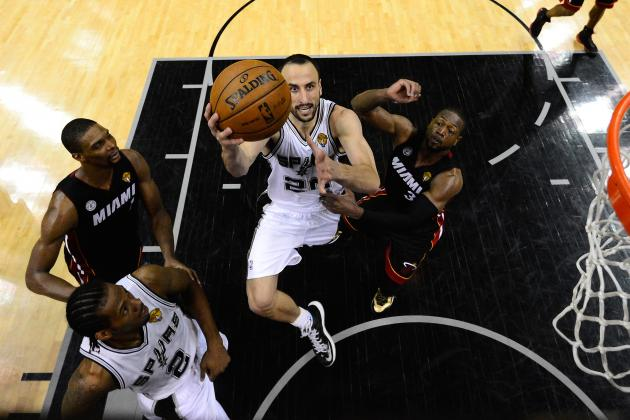 Manu Ginobili on Fans Chanting His Name: 'I Needed It'
