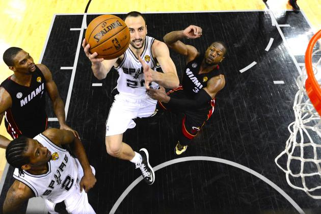 Manu Ginobili Answers All Critics in Heroic Game 5 NBA Finals Performance