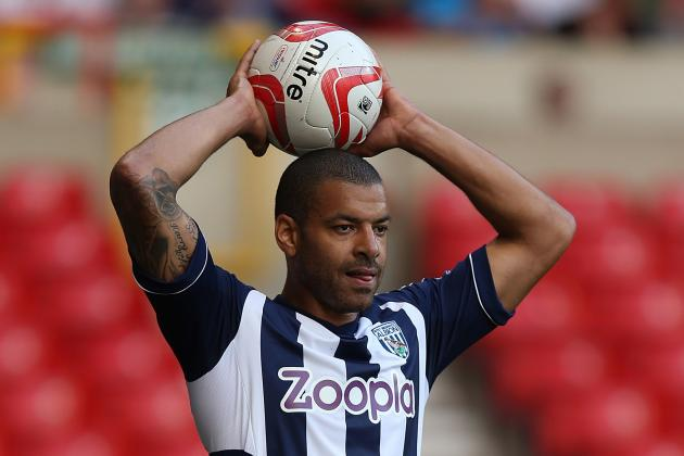 Transfer News: Steven Reid Has Agreed a New One-Year Deal at West Brom