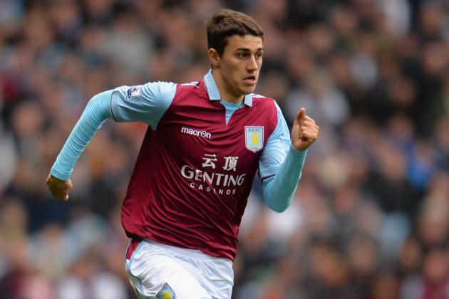 Aston Villa Boss Paul Lambert Confident Matthew Lowton Can Improve