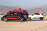 Trick Shots + Stunt Driving = Amazingness