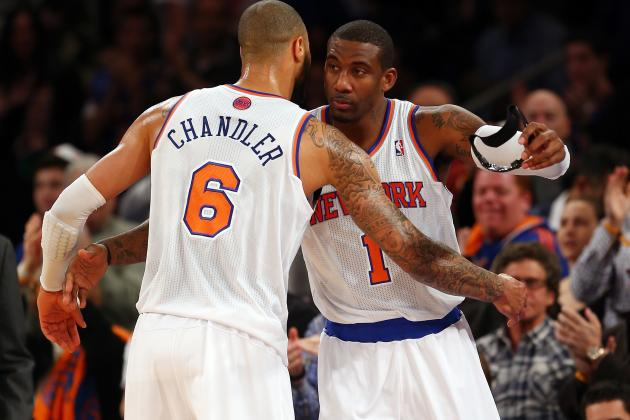 New York Knicks: Can Stoudemire and Chandler Ever Co-Exist?