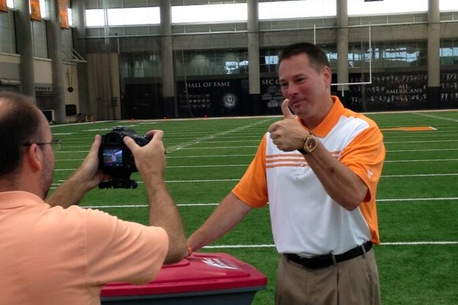 Video: Tennessee's Butch Jones Is Getting Volunteers...