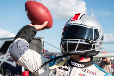 This Ohio State Racing Helmet Can Be Yours
