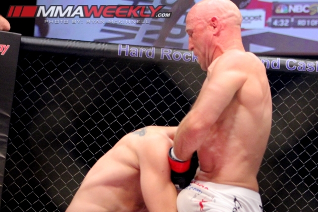 Josh Burkman Upsets Jon Fitch with Quick Submission