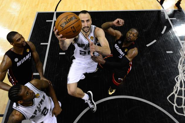 2013 NBA Playoffs: Manu Ginobili Will Give the Spurs a Big Advantage in Miami
