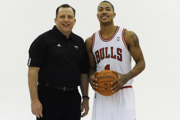 Bulls Coach Says Derrick Rose 'Is There Now'