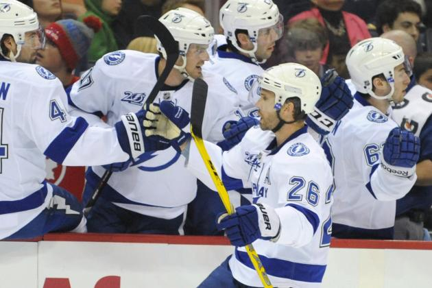 Lightning's St. Louis Quickly Gets Back to Work