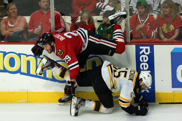 Bruins Physicality Taking Toll on Blackhawks