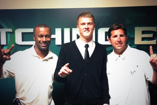 2014 QB Chase Litton Commits to USF