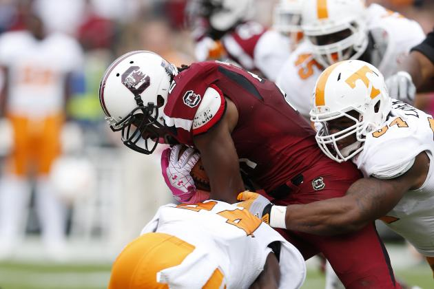 UT's Response to Lattimore Injury Earns Sportsmanship Award