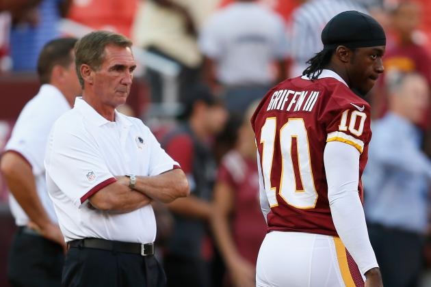 For RGIII and Shanahan, the Tough Decisions Come After the Doctors Sign Off