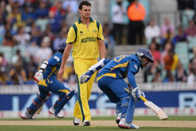 ICC Champions Trophy 2013: Australia vs. Sri Lanka Score, Points Table and More