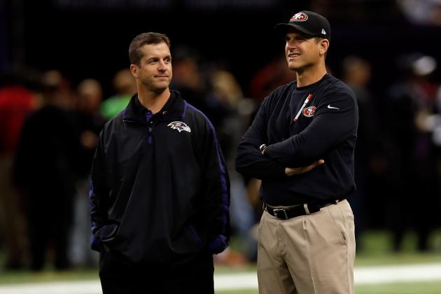 Harbaugh Brothers Competing Even on Father's Day