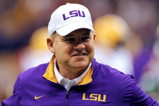When it Comes to Recruiting, LSU Coach Les Miles Absolutely Gets It