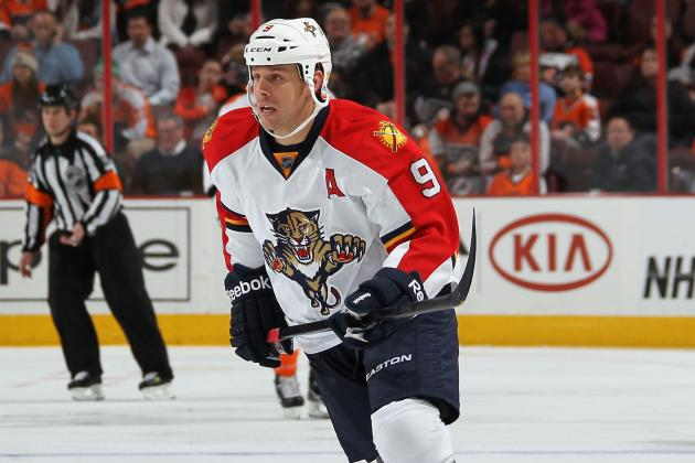 Report: Wings Interested in Panthers' Stephen Weiss