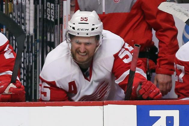 Kronwall at MIS, Says He's Optimistic on Wings' Future