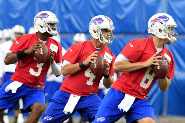 Will Buffalo Bills Keep Two Quarterbacks or Three?