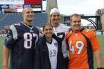 Alex Morgan Meets the Gronks