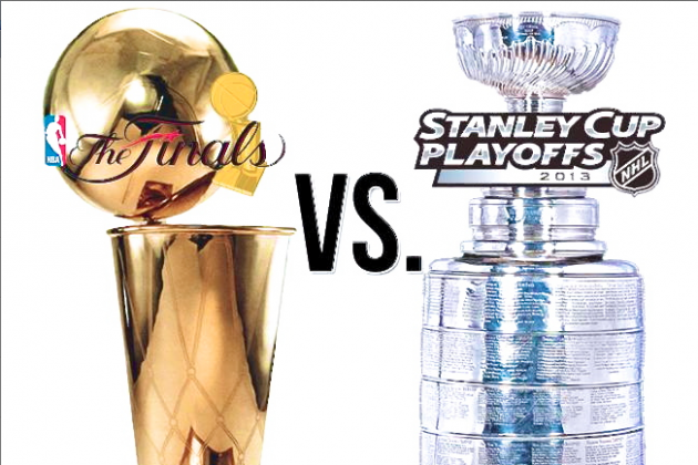 The Ultimate NBA vs. NHL Playoffs Debate