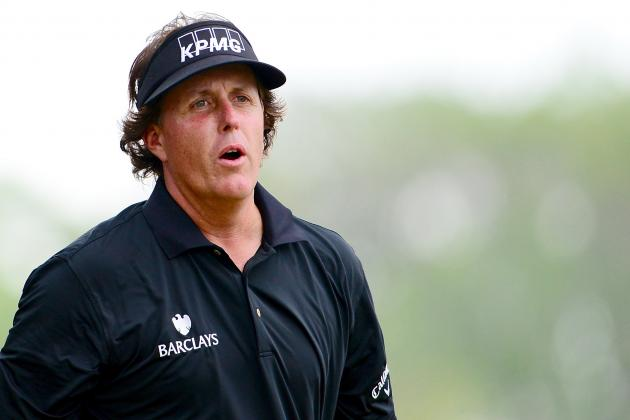 Phil Mickelson: Is Glass Half Empty or Half Full for Lefty After 2013 US Open?