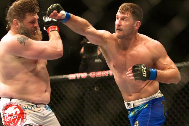 Stipe Miocic Not Calling Out Anybody After Win Over Nelson, Just Wants to Fight