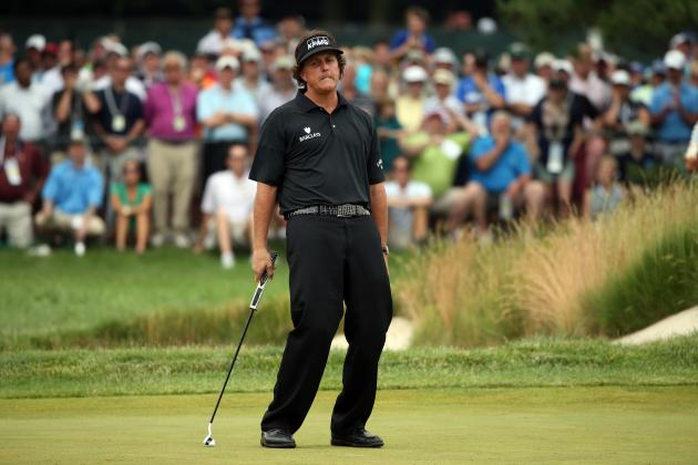 Phil Mickelson's Second-Place Finish at 2013 US Open Boils Down to Poor Putting