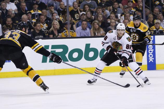 Stanley Cup Final 2013: Lifeless Chicago Blackhawks in Big Trouble in Boston