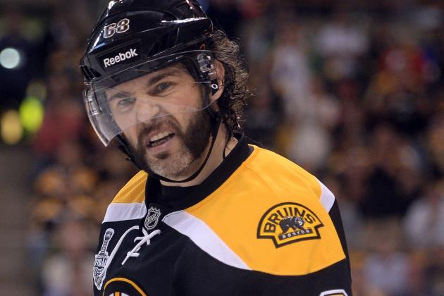 Even Without Scoring, Jaromir Jagr Still a Force
