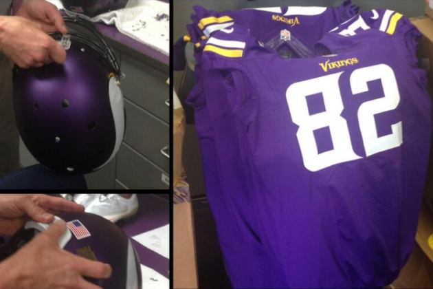 Vikings Unveil New Uniforms (Photos)