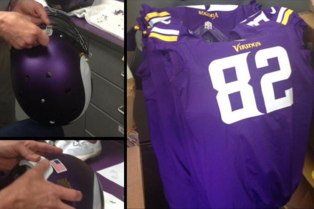 Vikings Tweet New Uniforms