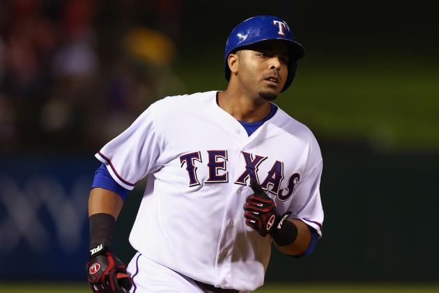 Rangers End 6-Game Skid with 8-7 Win over A's