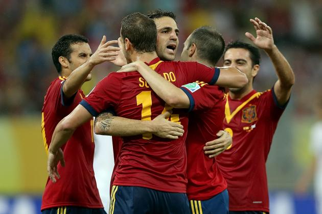 Confederations Cup: Most Intriguing Storylines to Watch For in Spain vs. Tahiti