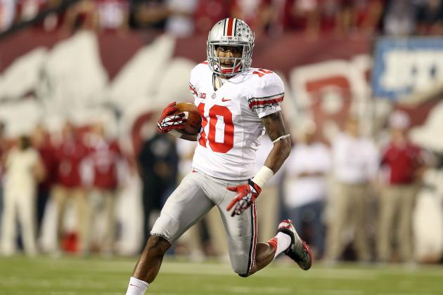 Who Will Lead Ohio State Buckeye Receivers in 2013?