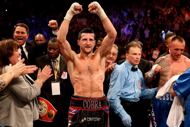 Carl Froch: Is He a Top-10 Pound-for-Pound Fighter?